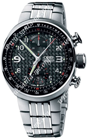 Oris Williams TT3 Chronograph Mens Wristwatch 674.7587.72.64.MB