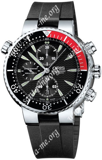 Oris Diver Chronograph Mens Wristwatch 674.7599.71.54.RS