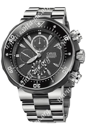 Oris PRO DIVER Mens Wristwatch 674.7630.71.54.MB