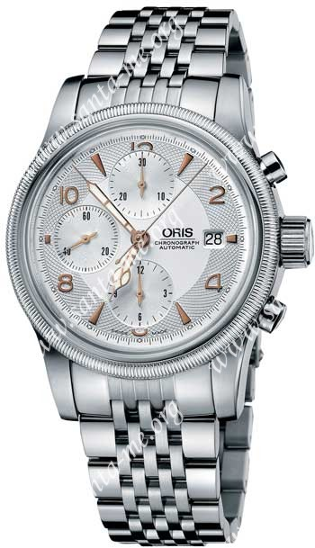 Oris Big Crown Chronograph Mens Wristwatch 67475674061MB