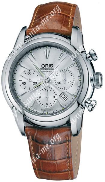 Oris Artelier Chronograph Mens Wristwatch 676.7547.40.51.LS