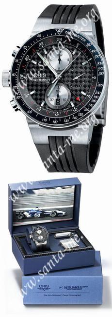 Oris WilliamsF1 Team Lefty Limited Mens Wristwatch 677.7577.70.54.RS