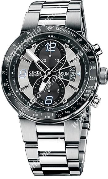 Oris WilliamsF1 Team Chronograph Date Mens Wristwatch 679.7614.41.74.MB