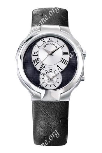 Philip Stein Teslar Round Mens Wristwatch 7-EB-OB