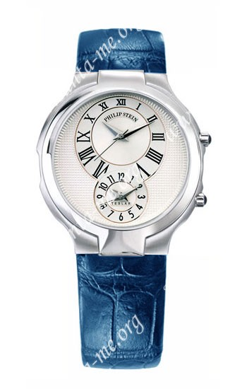 Philip Stein Teslar Round Mens Wristwatch 7-EI-ABLS