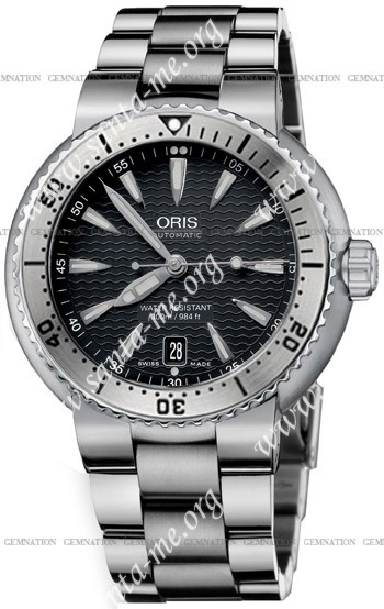 Oris TT1 Divers Date Mens Wristwatch 733.7533.41.54.MB
