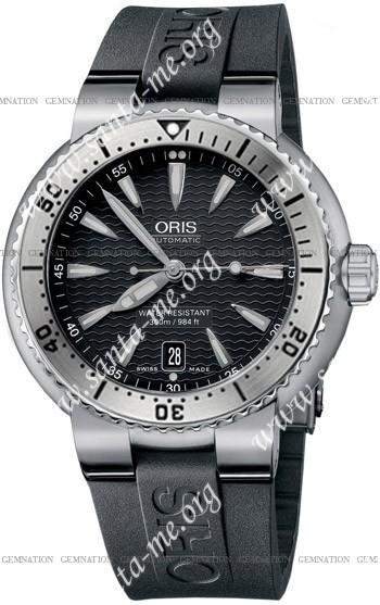 Oris TT1 Divers Date Mens Wristwatch 733.7533.41.54.RS