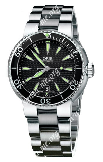 Oris TT1 Divers Date Mens Wristwatch 733.7533.84.54.MB