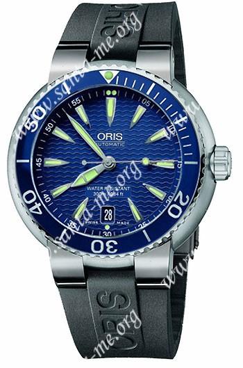 Oris TT1 Divers Date Mens Wristwatch 733.7533.85.55.RS