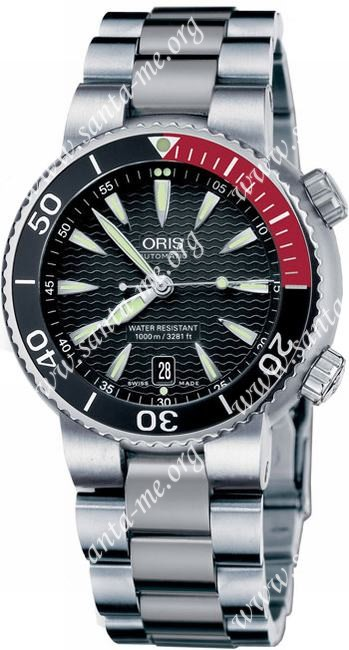 Oris TT1 Divers Titan Date Mens Wristwatch 733.7541.71.54.MB