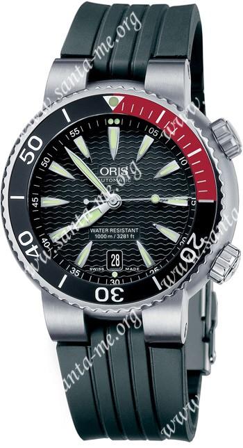 Oris TT1 Divers Titan Date Mens Wristwatch 733.7541.71.54.RS