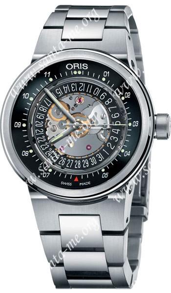 Oris TT2 WilliamsF1 Team Skeleton Engine Mens Wristwatch 733.7560.41.14.MB