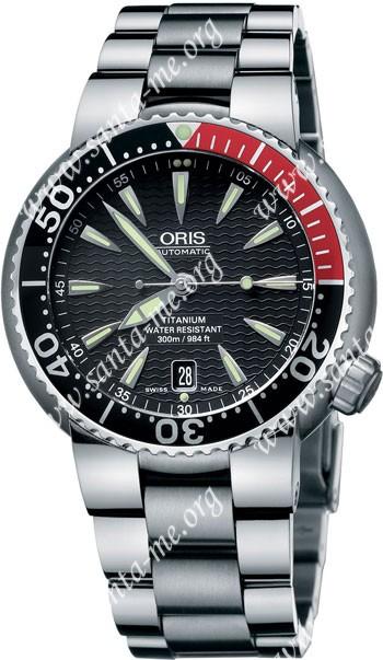 Oris TT1 Divers Titan Date Mens Wristwatch 733.7562.71.54.MB
