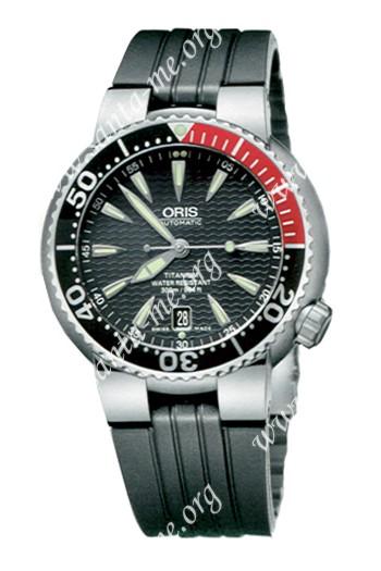 Oris TT1 Divers Titan Date Mens Wristwatch 733.7562.71.54.RS