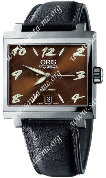 Oris Dizzy Gillespie Limited Edition Mens Wristwatch 733.7593.40.89.LS