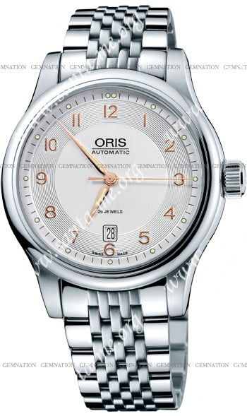 Oris Classic Date Mens Wristwatch 733.7594.4061.MB