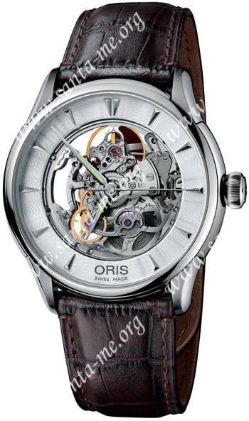 Oris Artelier Mens Wristwatch 734.7591.40.51.LS