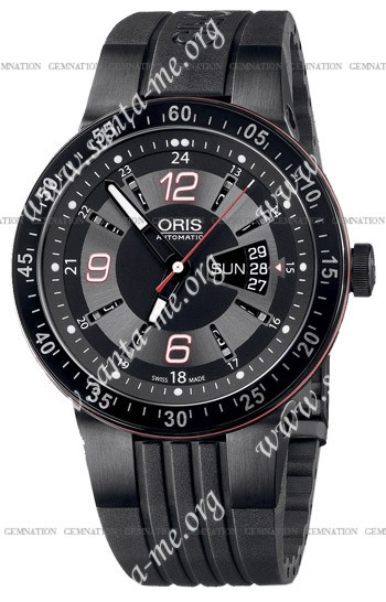 Oris Williams F1 Team Day Date Mens Wristwatch 735.7634.47.64.RS