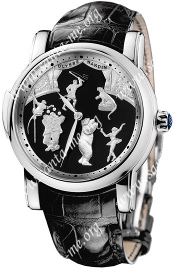 Ulysse Nardin Circus Minute Repeater Mens Wristwatch 749-80