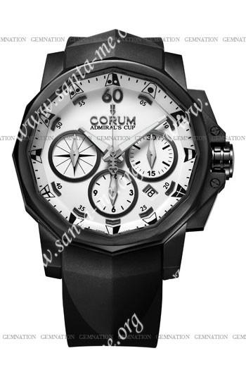 Corum Admirals Cup Black Challenge 44 Mens Wristwatch 753.691.98-F371-AA12