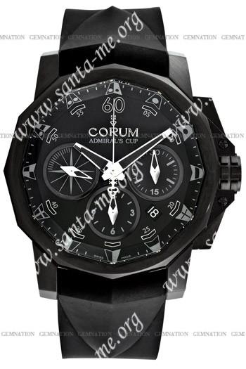 Corum Admirals Cup Black Challenge 44 Mens Wristwatch 753.691.98-F371-AN12