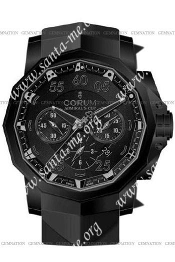 Corum Admirals Cup Black Hull 48 Mens Wristwatch 753.934.95-0371-AN92