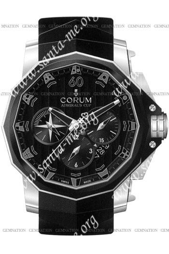 Corum Admirals Cup Chronograph 48 Mens Wristwatch 753.935.06.0371-AN52