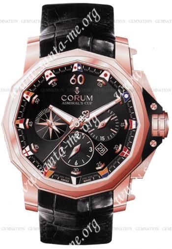 Corum Admirals Cup Chronograph 48 Mens Wristwatch 753.936.55.0081-AN32