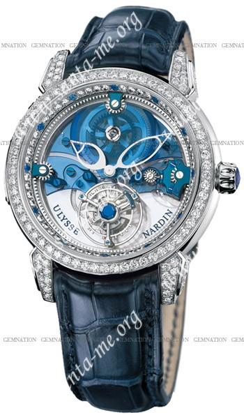 Ulysse Nardin Royal Blue Tourbillon Mens Wristwatch 799-83