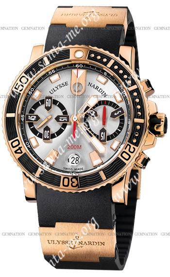 Ulysse Nardin Maxi Marine Diver Chronograph Mens Wristwatch 8006-102-3A.91