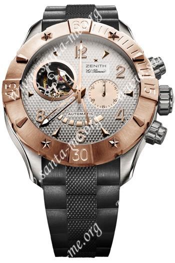 Zenith Defy Classic Open El Primero Mens Wristwatch 86.0526.4021-01.R650