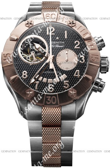 Zenith Defy Classic Open El Primero Mens Wristwatch 86.0526.4021-21.M527