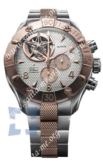Zenith Defy Classic Tourbillion Mens Wristwatch 86.0526.4035.01.M527