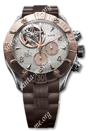 Zenith Defy Classic Tourbillion Mens Wristwatch 86.0526.4035.01.R650