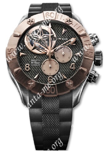 Zenith Defy Classic Tourbillion Mens Wristwatch 86.0526.4035.21.R642