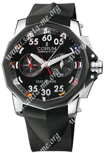 Corum Leap Second 48 Mens Wristwatch 895.931.06-0371-AN92
