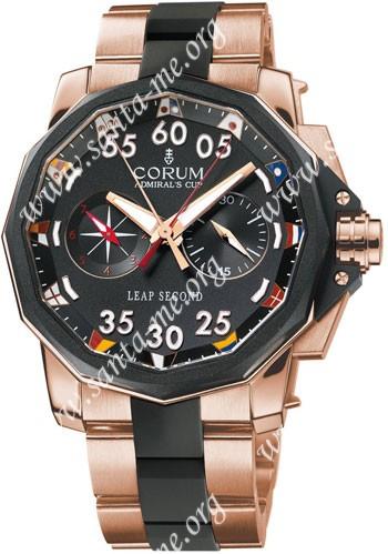 Corum Leap Second 48 Mens Wristwatch 895.931.91-V791-AN32