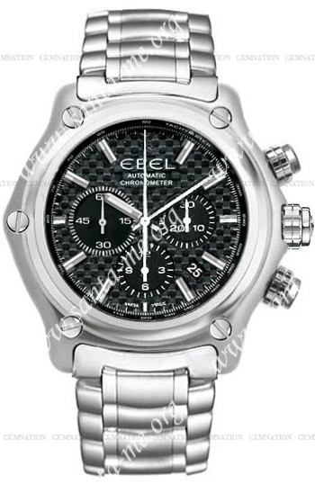 Ebel 1911 BTR Chronograph Mens Wristwatch 9137L70-15360