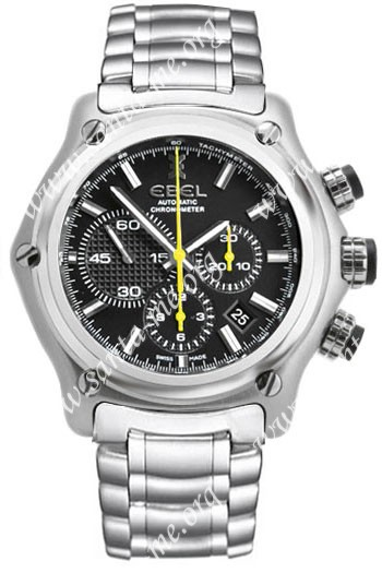 Ebel 1911 BTR Chronograph Mens Wristwatch 9137L72.5360