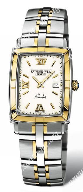 Raymond Weil Parsifal  Rectangular (New) Mens Wristwatch 9340.STG00307