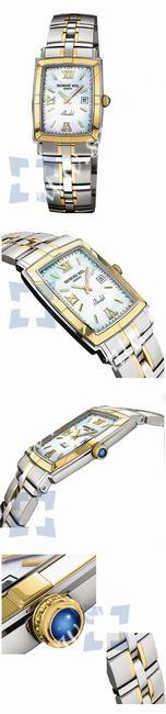 Raymond Weil Parsifal  Rectangular (New) Mens Wristwatch 9340.STG00907