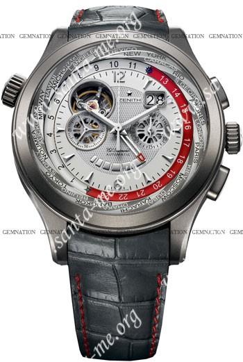 Zenith Grande Class Traveller Multicity Mens Wristwatch 95.0520.4037-03.C680