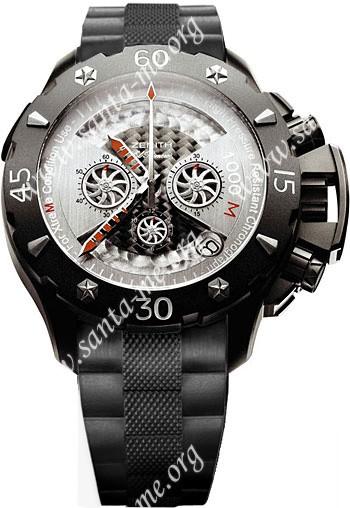 Zenith Defy Xtreme Open El Primero Chronograph Mens Wristwatch 96.0525.4000.21.R642