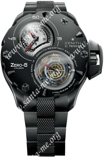 Zenith Zero-G Tourbillon Mens Wristwatch 96.0525.8800.21.M529