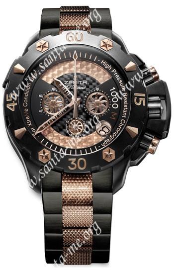 Zenith Defy Xtreme Open El Primero Chronograph Mens Wristwatch 96.0528.4000.21.M528