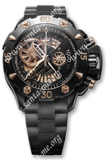 Zenith Defy Xtreme Open El Primero Mens Wristwatch 96.0528.4021.21.R642