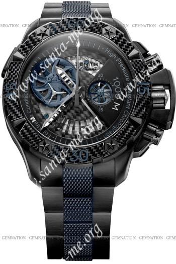 Zenith Defy Xtreme Open El Primero Sea Mens Wristwatch 96.0529.4021-51.M533