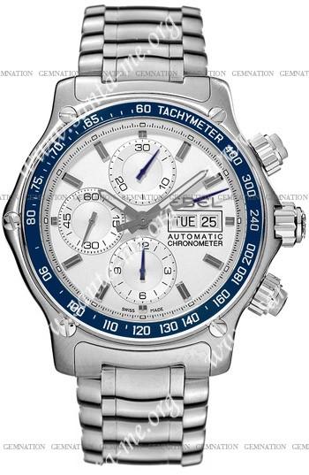 Ebel 1911 Discovery Chronograph Mens Wristwatch 9750L62.163BL60