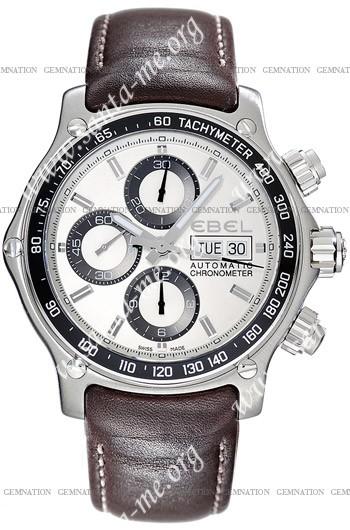 Ebel 1911 Discovery Chronograph Mens Wristwatch 9750L62.63B35P11