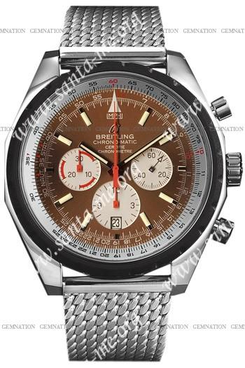 Breitling ChronoMatic 49 Mens Wristwatch A1436002.Q556-SS